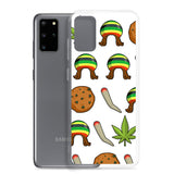 Rasta Life Weed Samsung Phone Cases