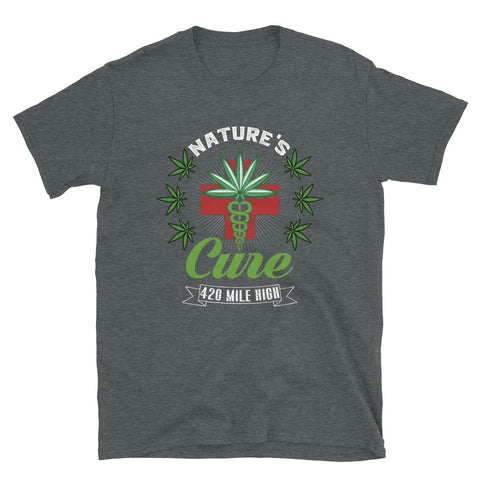 Nature's Cure Dark Heather T-Shirt  | 420 Mile High