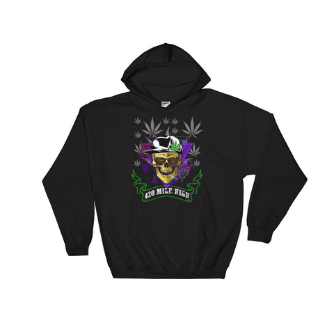 420 Mile High Party Weed Pullover Sweatshirt Hoodies - 420 Mile High