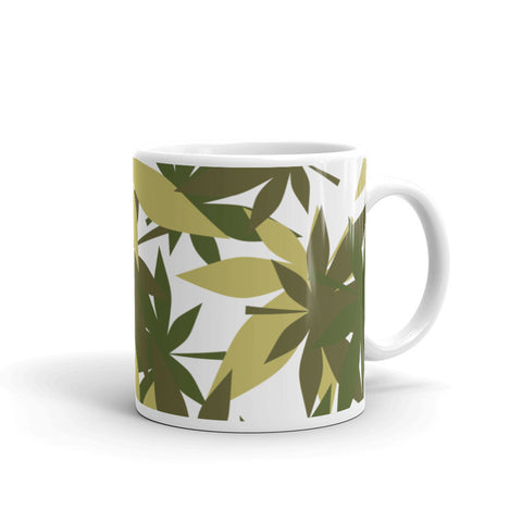 Military Weed Coffee Mug - 420 Mile High