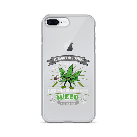Smoke More Weed iPhone Case - 420 Mile High