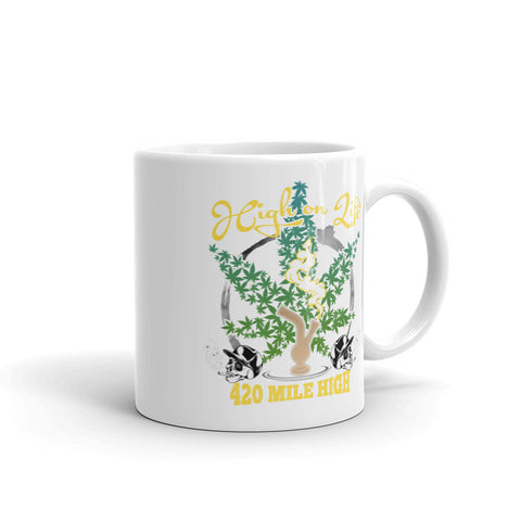 High On Life Mug - 420 Mile High