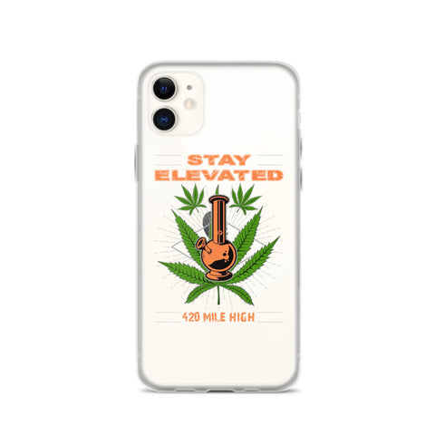 Stay Elevated Mobile iPhone Case - 420 Mile High