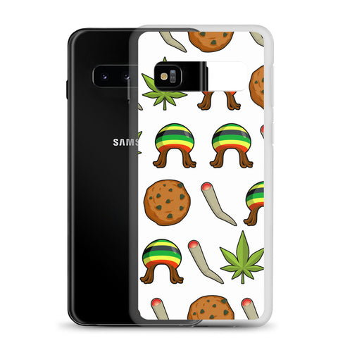 Rasta Life Weed Samsung Phone Case - 420 Mile High