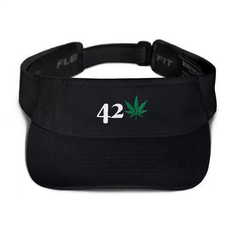 420 Weed Visor Hat - 420 Mile High