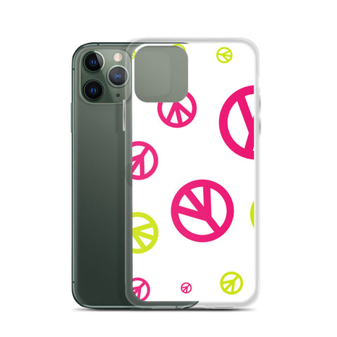 Peace Signs iPhone Case - 420 Mile High