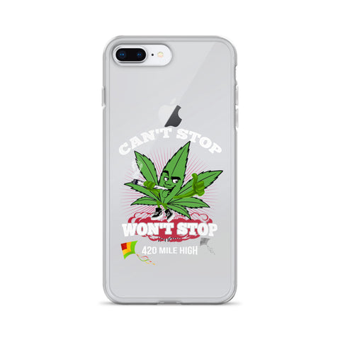 Can't Stop Won't Stop iPhone Case - 420 Mile High