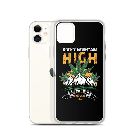 Rocky Mountain High iPhone Case - 420 Mile High