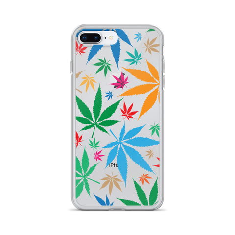 Multi-Color Weed iPhone Case - 420 Mile High