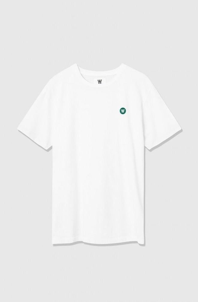 WoodWood Ace T-shirt mit grünem Logo
