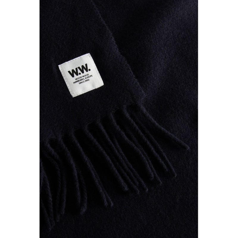 WoodWood Karl Scarf Black