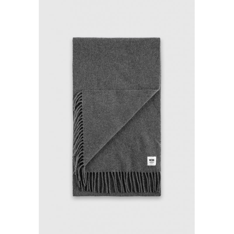 WoodWood Karl Scarf Grey
