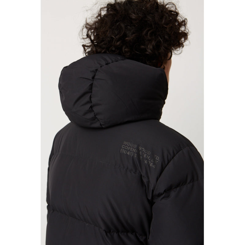 WoodWood Sander Jacket Black