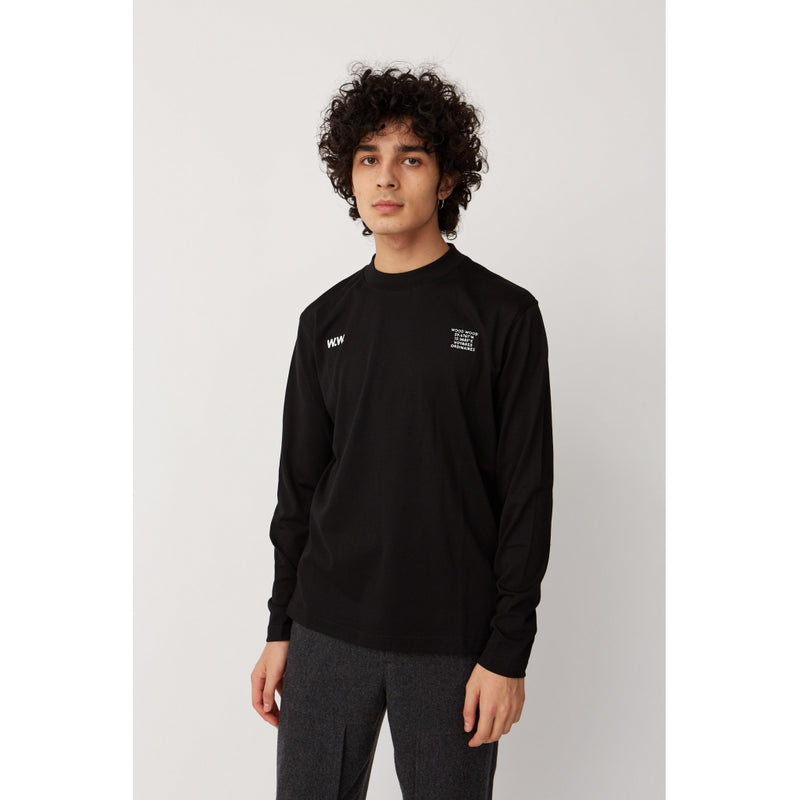 WoodWood Anakin Long sleeve black