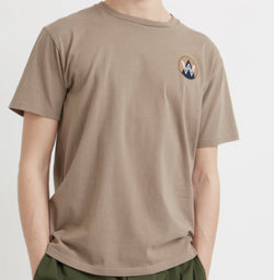 WoodWood Patch T-Shirt Taupe