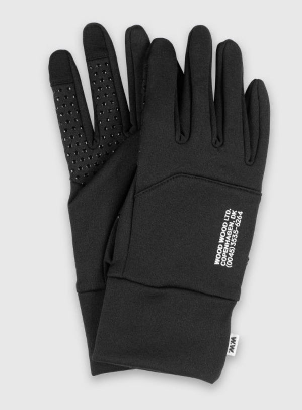 WoodWood Gloves Black