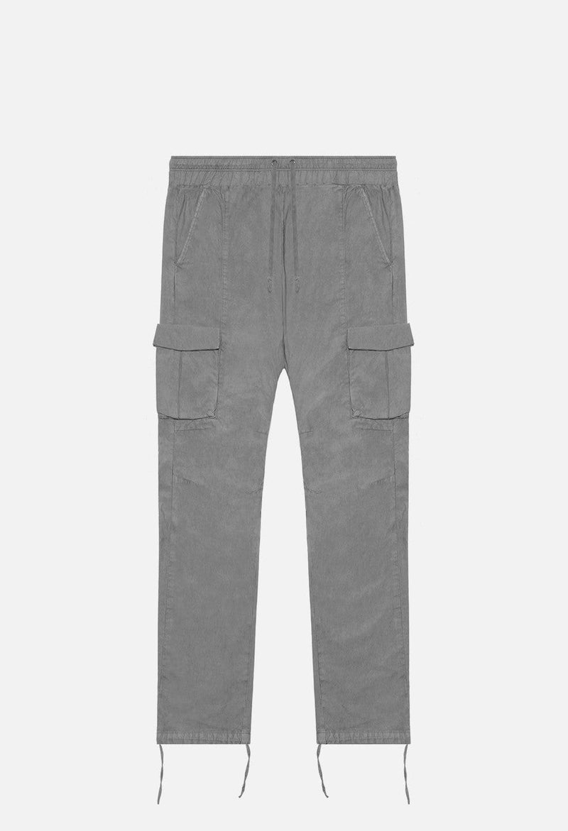 John Elliott Back Sateen Cargo Pants -CHARCOAL