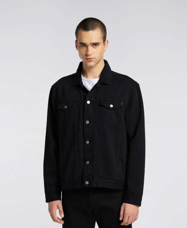 EDWIN Trucker Denim Jacket Black