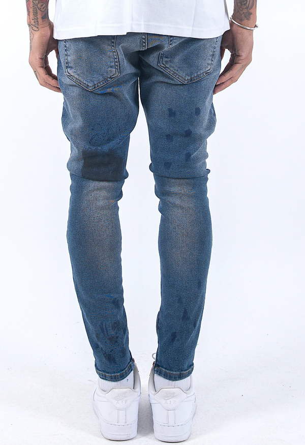 Thiago Denim Washed Blue