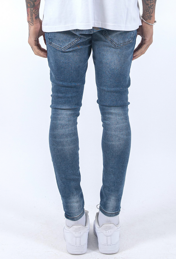 Ferri Destroyed Denim Vintage Indigo