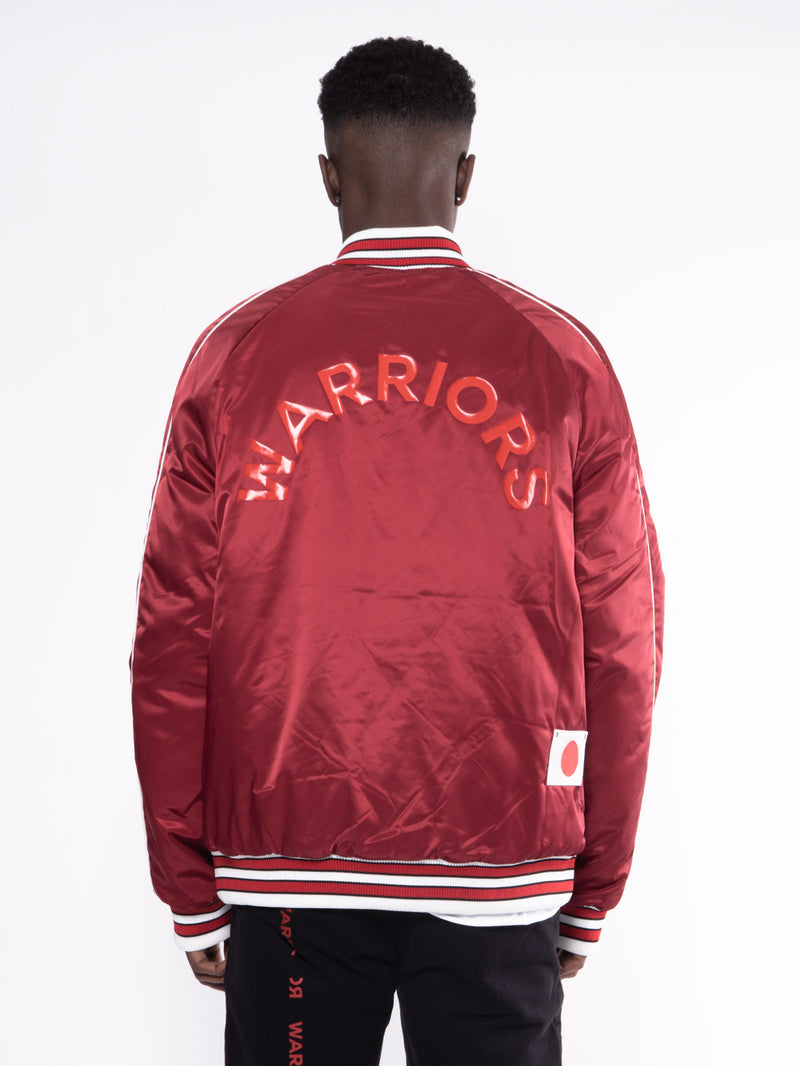 OWWW Maoki Basketball Jacket Red