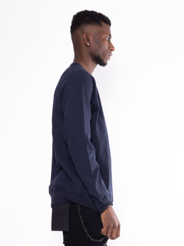 WoodWood Hester Sweatshirt Navy Blue