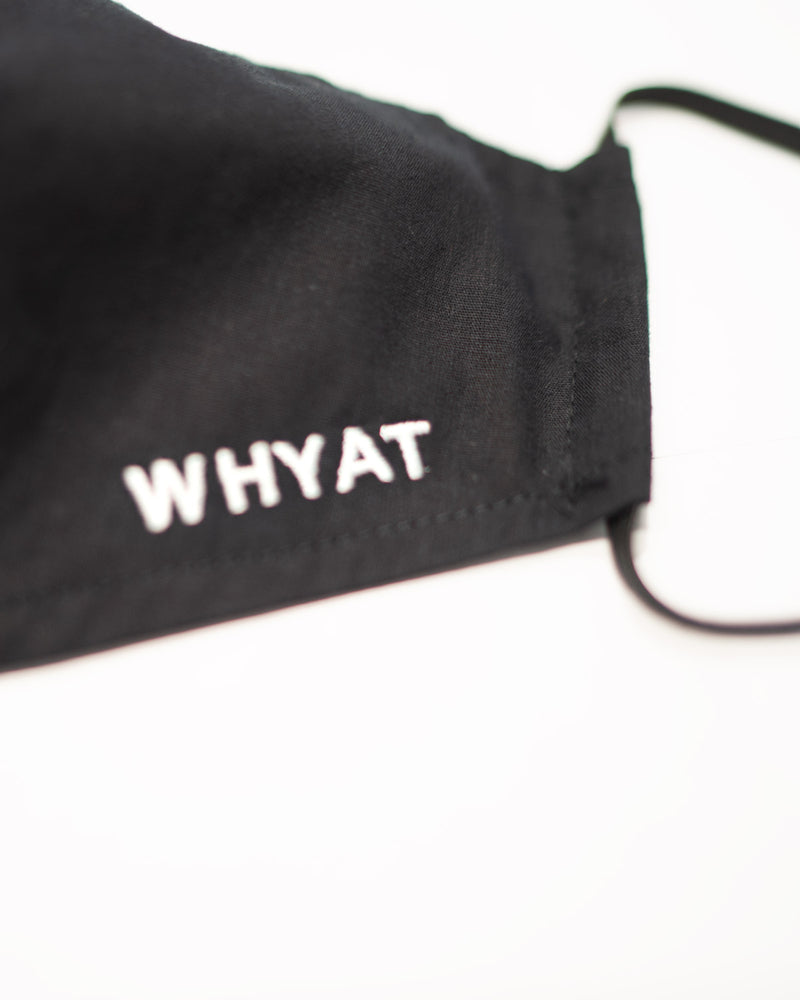 WHYAT Facemask Black