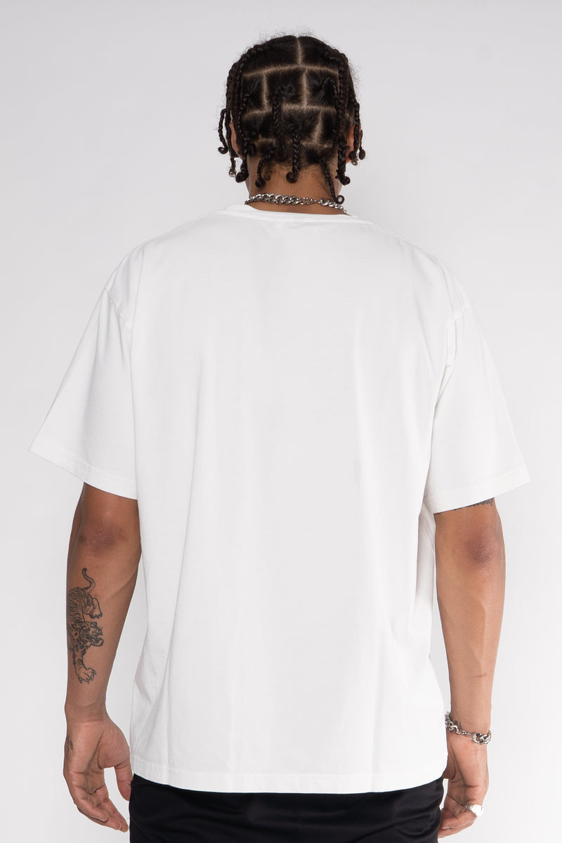 WHYAT Basic T-Shirt -vintage white