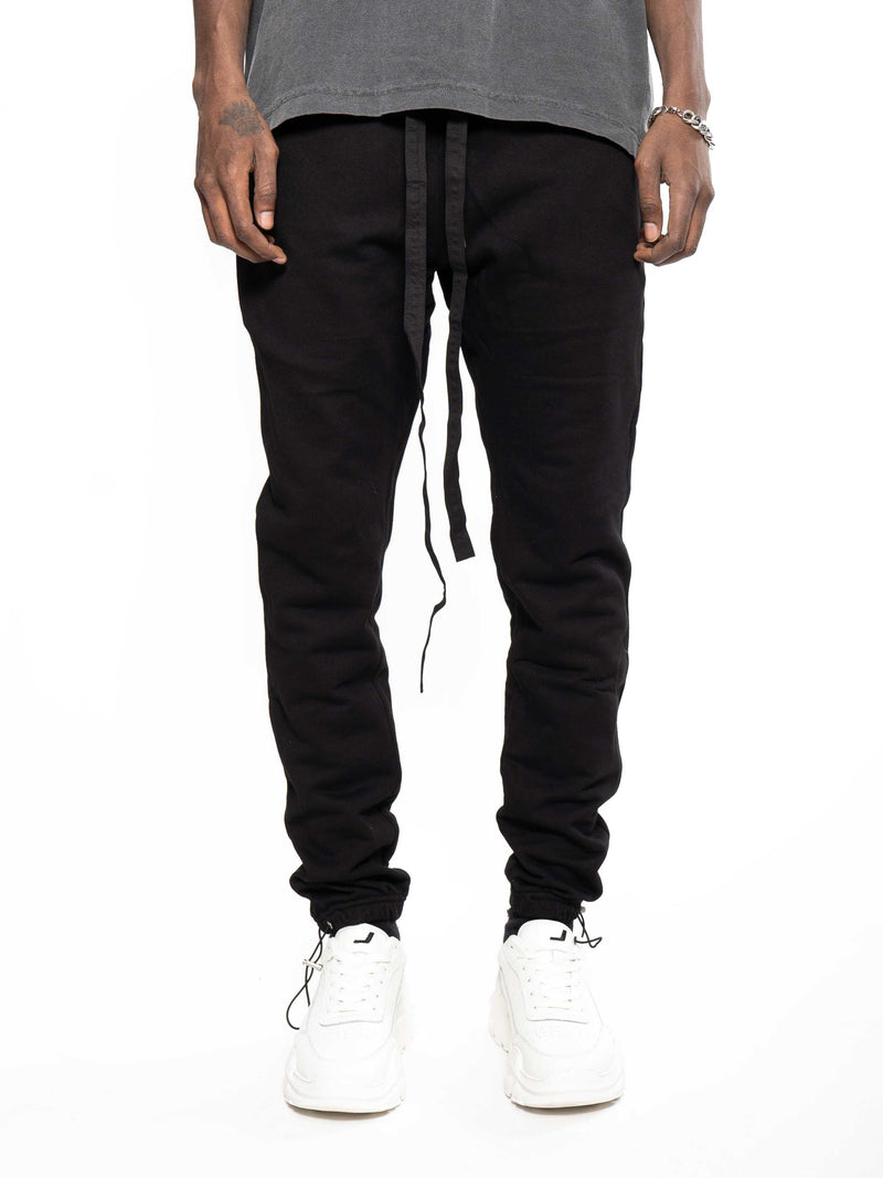 WHYAT Basic Sweatpants Black