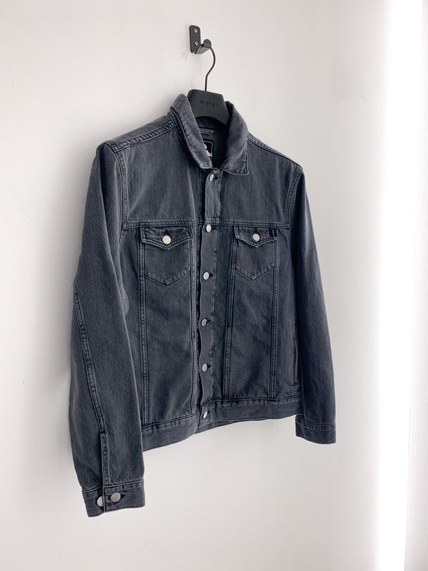 EDWIN Denim Trucker Jacket Grey