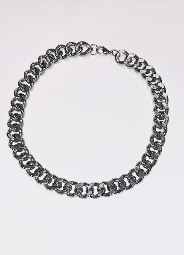 WHYAT Cuban Chain XL Stainless Steel