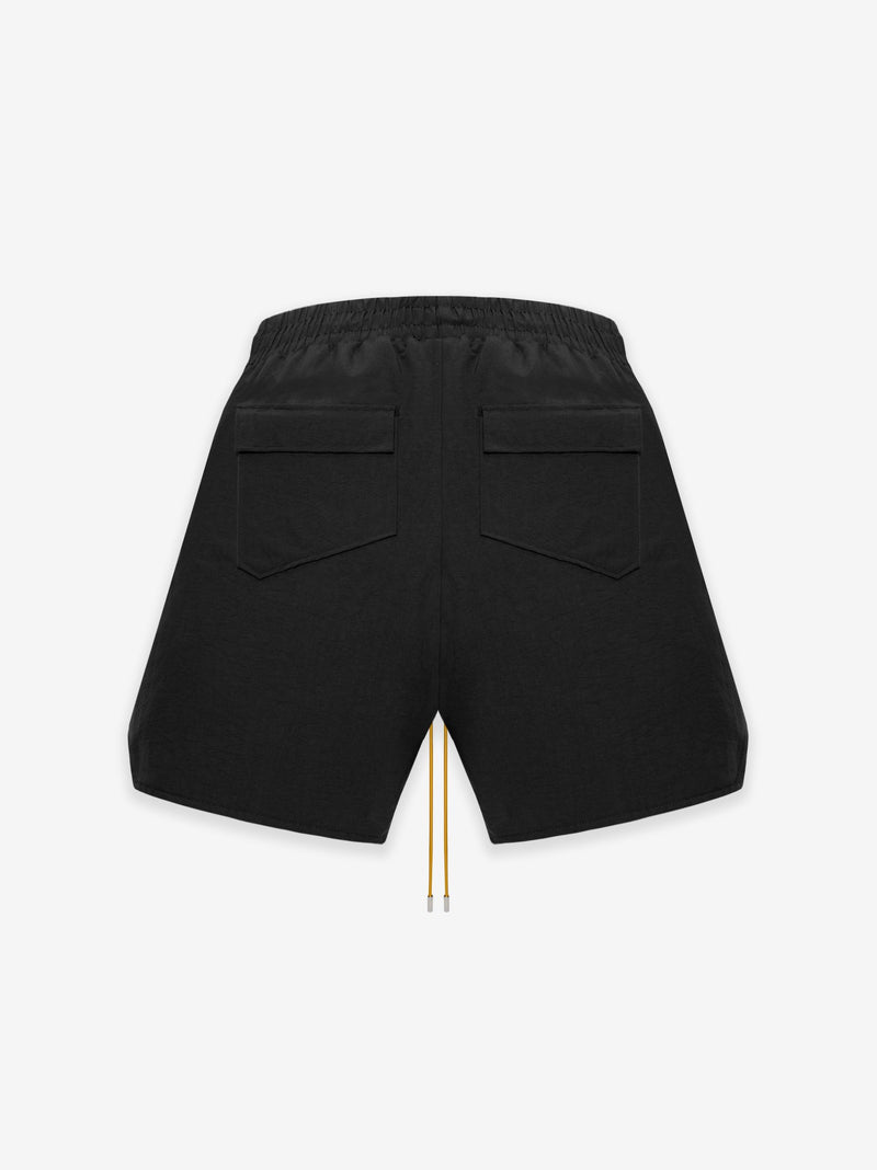 RHUDE Logo Short Black