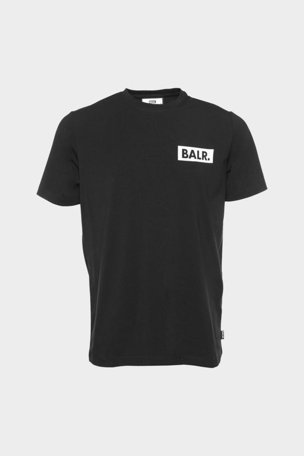 BALR. Cube Straight T-Shirt Black