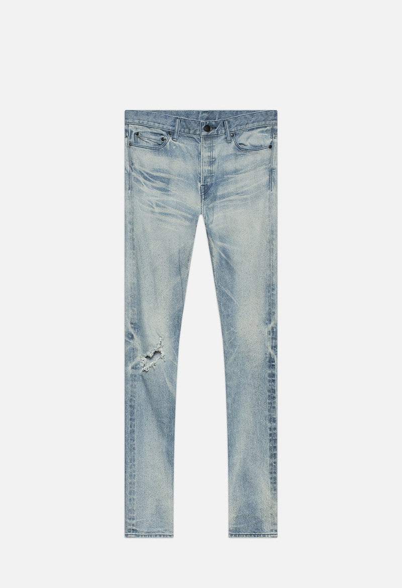 John Elliott denim in verwaschenen blau