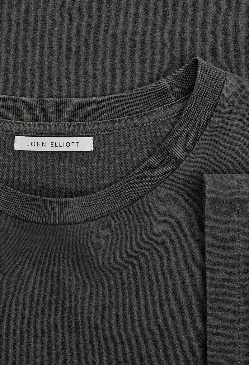 John Elliott University Tee -washed Black
