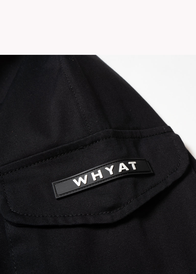 WHYAT Cargo Pants -black