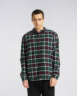 EDWIN Labour Shirt Flannel green/Black