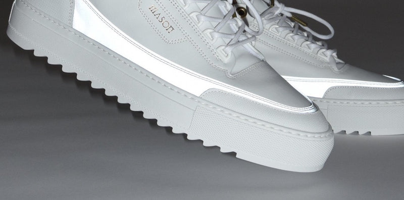 Mason Garments Firenze Sneaker White/Reflective