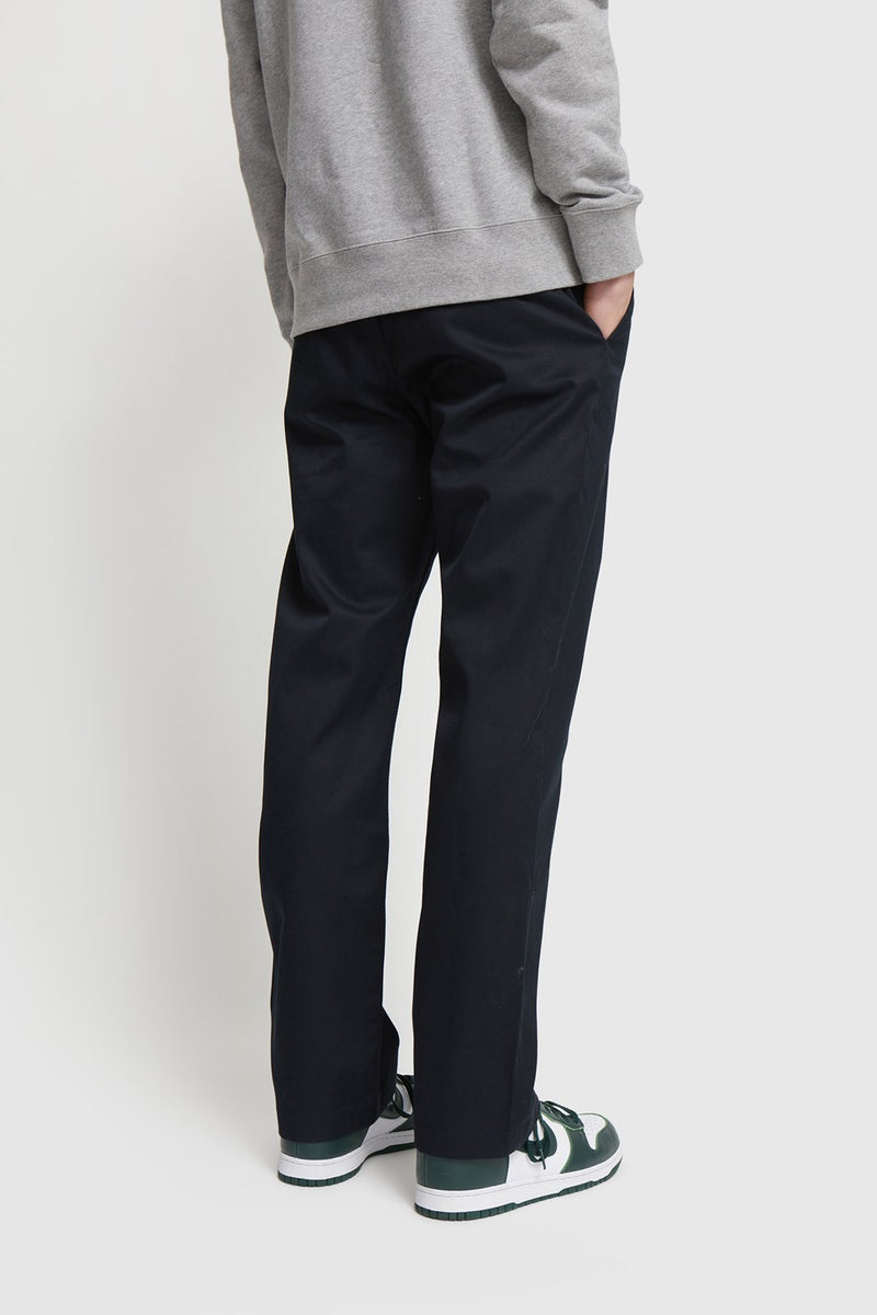 WoodWood Stefan Classic Trousers Navy