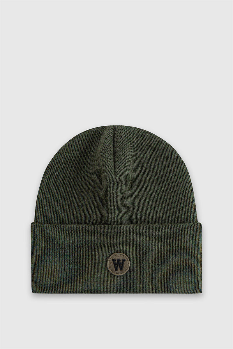Gerald tall Beanie von WoodWood in grau