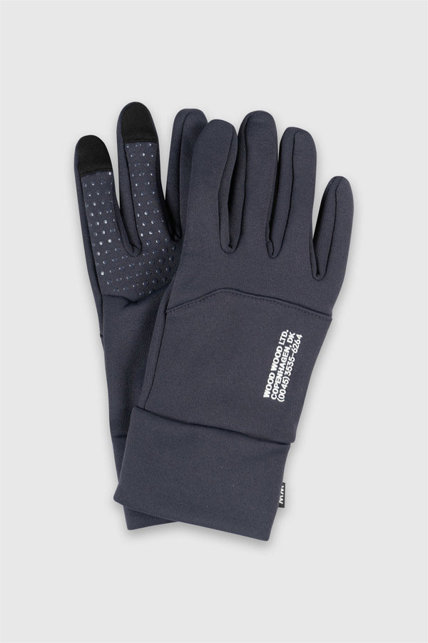 WoodWood Gloves Navy