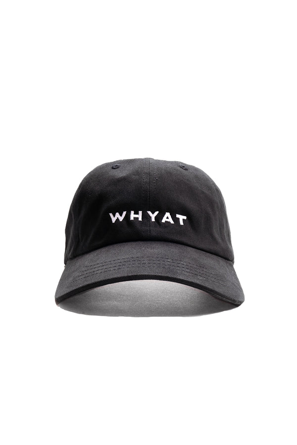 WHYAT Dad Cap -black