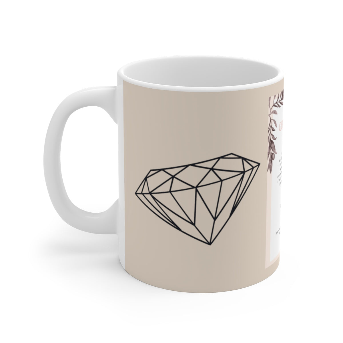 Gem Mantra Ceramic Mug