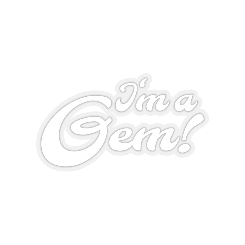 I'm a Gem Sticker