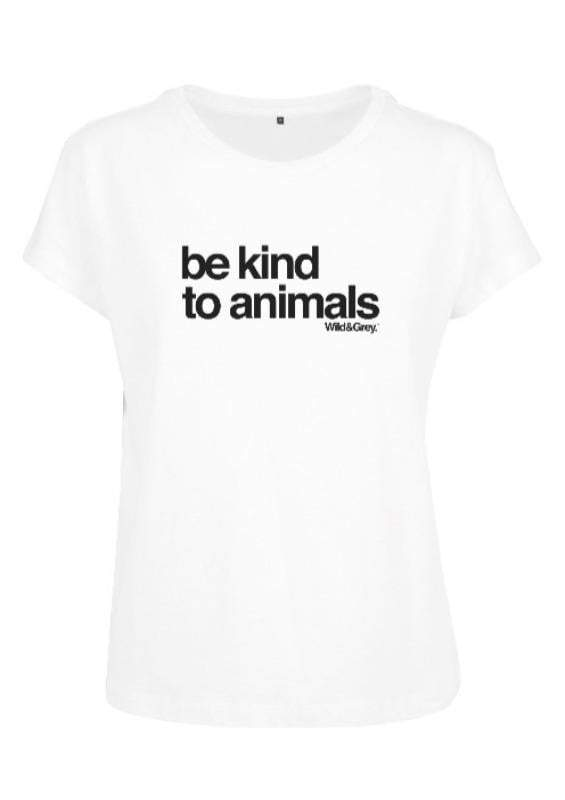Be Kind to Animals - Womens Perfect Tee