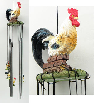 Windchime Rooster - aomega-products