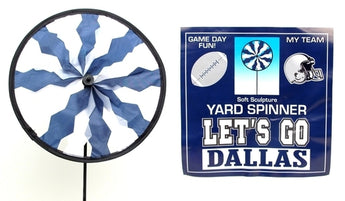 NFL Dallas Cowboys Yard Spinner Set of 2 - aomega-products