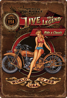 Live The Legend Ride a Classic - aomega-products
