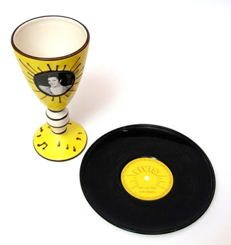 Elvis 1954 Goblet & Plate - aomega-products