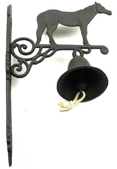 Cast Iron Horse Bell - aomega-products